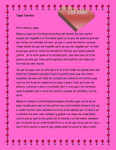 madre de una carta para un hijo carta para mi papa y mama