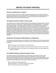 use narrative template doc writing the grant template sle form