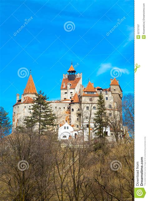 dracula castle in transylvania and the real story about bran castle romania known for the story of dracula stock