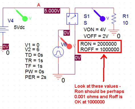 voltage controlled resistor cadence switches how to use quot voltage controlled switch quot in orcad electrical engineering stack exchange