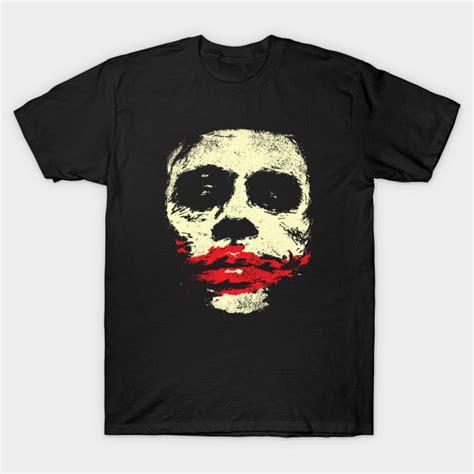 Tshirt Joker joker tshirt dc comics t shirt teepublic