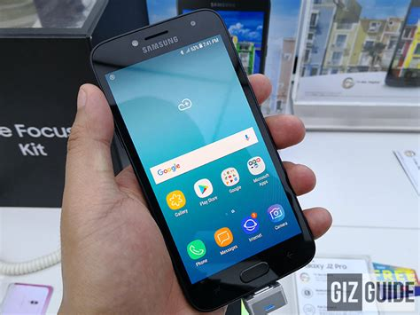 Z Samsung J2 Samsung Galaxy J2 Pro 2018 Is Now In The Philippines Priced At Php 7 490