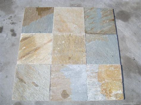 yellow quartzite tile kld014 kld china manufacturer other stones slate marble