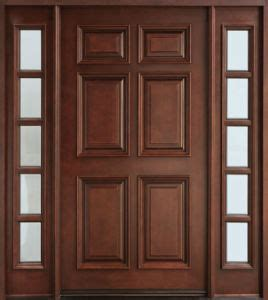 China Best Selling Products High End Exterior Wood Doors High End Exterior Doors