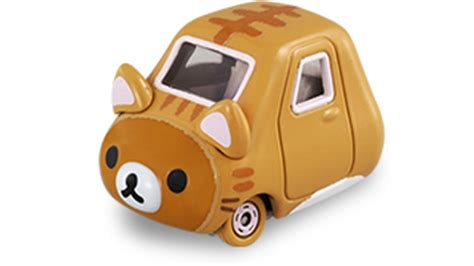 Tomica Rilakkuma Cat new items on sale july 2016 tomica takaratomy