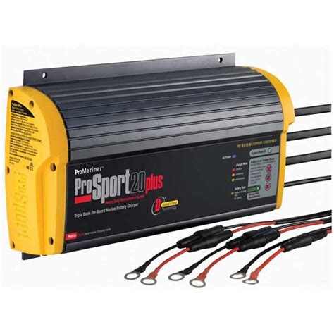 boat battery chargers information promariner prosport 20 plus heavy duty marine battery