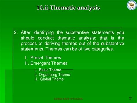 themes for qualitative research qualitative research process