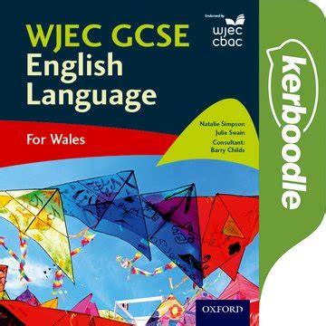 wjec gcse english language oxford university press
