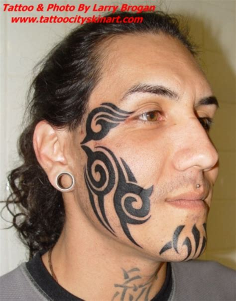tattoo faces gallery