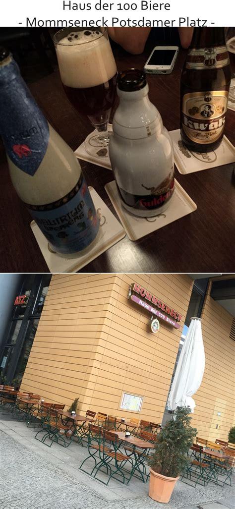 haus der 100 biere berlin potsdamer platz best of berlin haus der 100 biere mommseneck