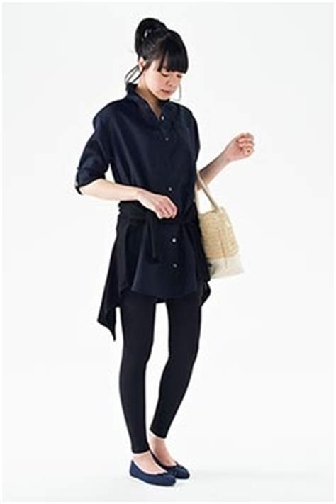 Kyoko Tunik Navy 1000 images about muji s clothing on bags