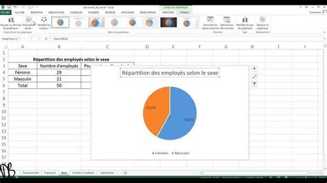 logiciel pour diagramme circulaire diagramme circulaire en secteur avec excel 2013