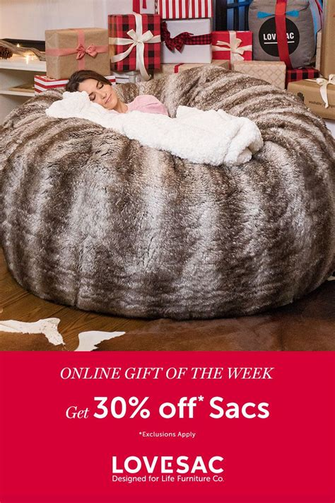 lovesac europe it s our gift of the week and it ends sunday so