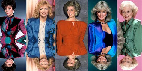 gambar baju tahun 80an 8 gaya fashion yang heboh di tahun 80an nambenk