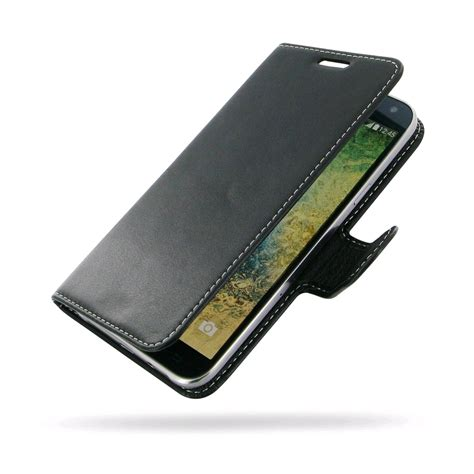Leather Book Ume Samsung E7 pdair deluxe leather for samsung galaxy e7 book type black expansys australia