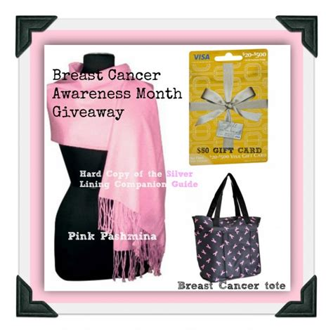 Breast Cancer Awareness Month Giveaways - breast cancer awareness month giveaway