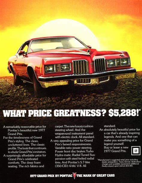 all car manuals free 1977 pontiac grand prix transmission control 1977 pontiac grand prix ad classic cars today online