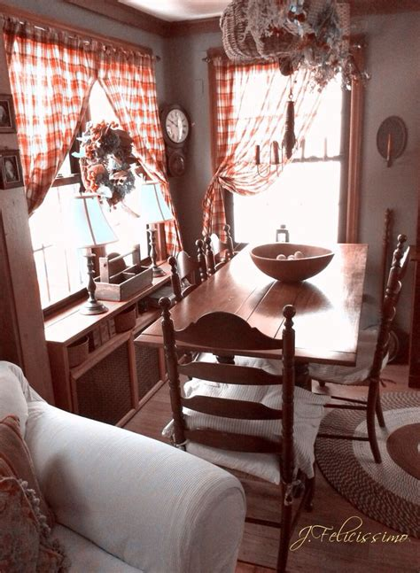 Dining Room Primitive Decor 25 Best Ideas About Plaid Curtains On Plaid
