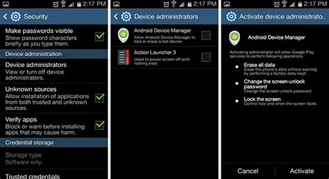 android devicemanager find my iphone for android meet android device manager