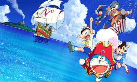 film doraemon yang pertama yuk berpetualang bersama doraemon nobita s treasure