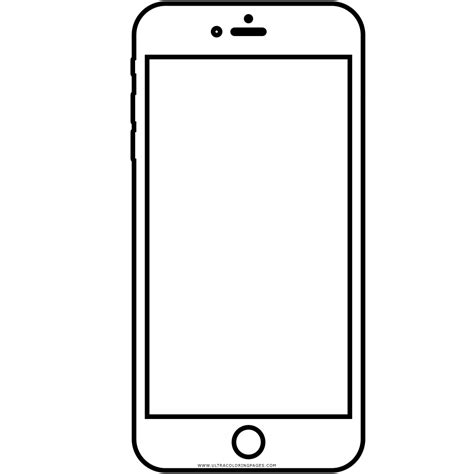 Iphone 8 Coloring Page by Iphone 6 Coloring Page Ultra Coloring Pages
