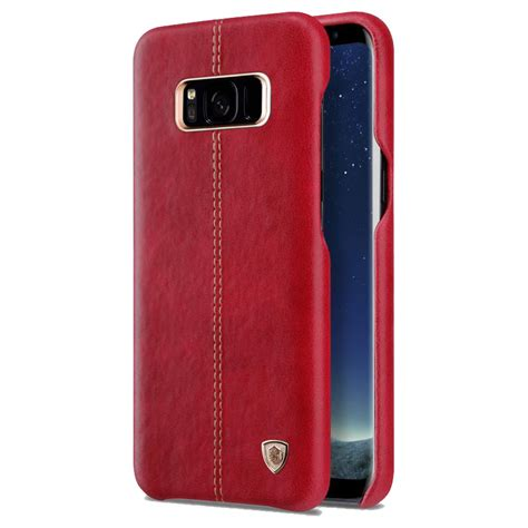 Nillkin Englon Leather Cover Samsung Galaxy S8 Plus Biru samsung galaxy s8 plus nillkin englon leather cover 綷 綷 綷