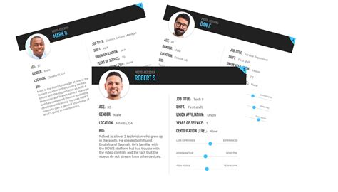 Persona 5 Card Template by Ux Creating Proto Personas Ux Collective