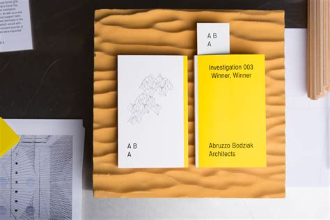 identity architects aba architects print and identity on behance