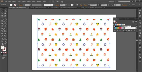 adobe illustrator lock pattern creating a christmas background pattern in adobe illustrator