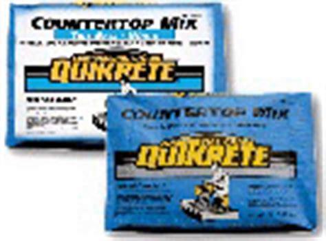countertop mix quikrete 174 2017