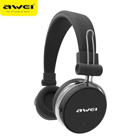 Headset Bluetooth 2 Telinga awei a700bl bluetooth headphone with microphone wireless