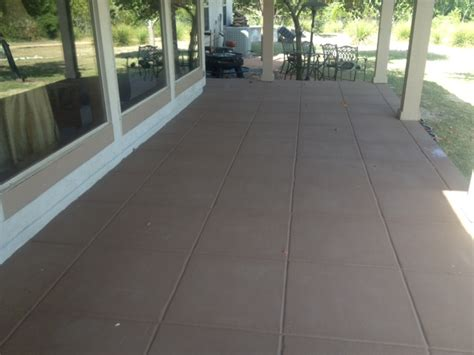 patio how to paint concrete patio home interior design