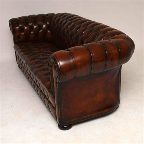 Antique Leather Chesterfield Sofa At 1stdibs Vintage Chesterfield Sofa For Sale