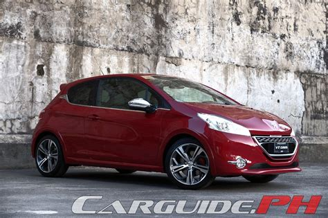 peugeot car price philippines review 2015 peugeot 208 gti philippine car car