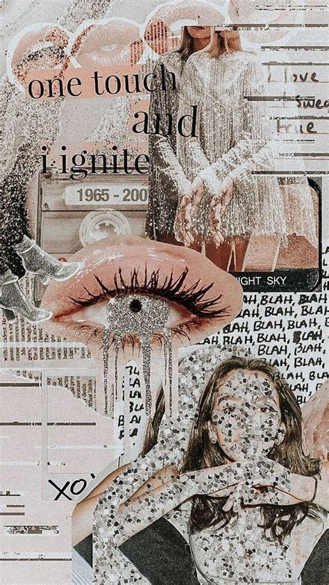 fashion collage backgrounds   phone blondie