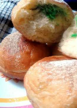 Membuat Roti Goreng Isi Kelapa | inilah cara membuat roti goreng isi kelapa yang enak
