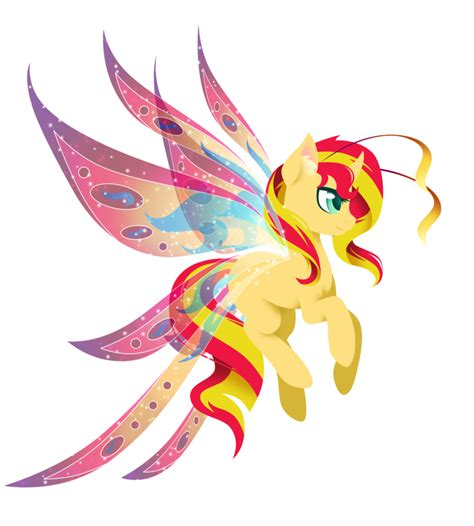 sunset shimmer ponies pinterest