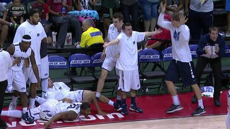 bench celebrations monmouth bench reaction youtube