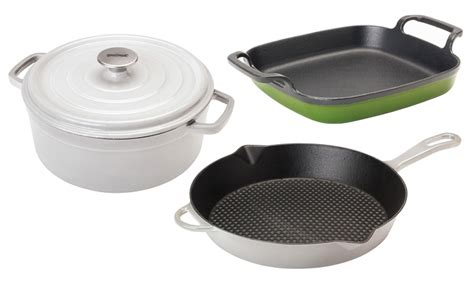living social cast iron cookware enameled cast iron cookware livingsocial