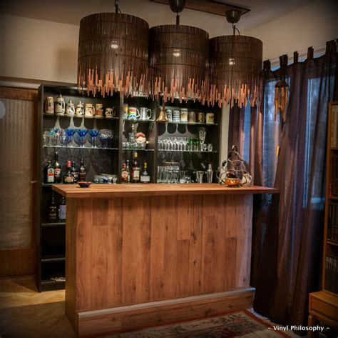 Ikea Bar by Diy Home Bar Built From Billy Bookcases Ikea Hackers