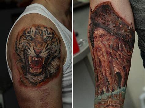 imagenes de tattoos realistas un tatuador ucraniano que hace los tatuajes m 225 s realistas
