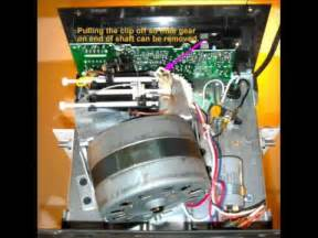 repair sears craftsman liftmaster garage door opener gear