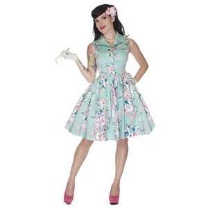 swing kleid pink voodoo vixen new pink aqua floral 50s fifties prom