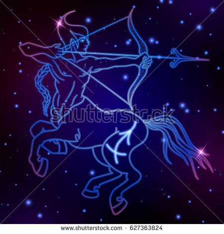 pin sagittarius symbol horoscope on pinterest