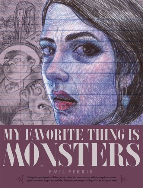 my favorite thing is monsters top 25 comics graphic novels paul gravett