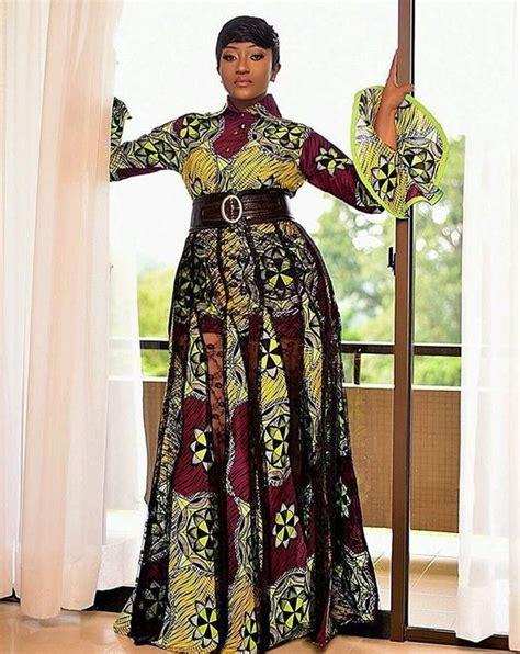 Latest Simple Ankara Gown