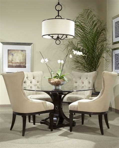 round glass top dining room tables 17 classy round dining table design ideas dining table