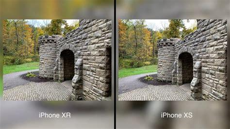 camera comparison iphone xr  iphone xs max macrumors