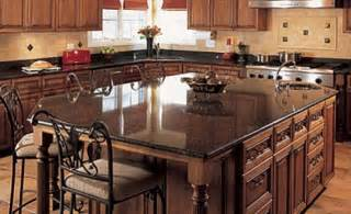 Kitchen Island Granite Countertop Granite Kitchen Island Pictures And Ideas