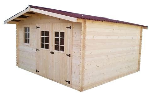 abri de jardin en bois 4x4 m abrirama bou4040 02n